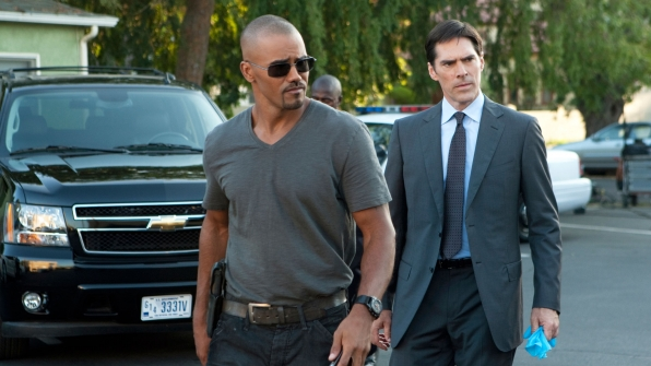 He and Shemar Moore are the longest-running characters on Criminal Minds.