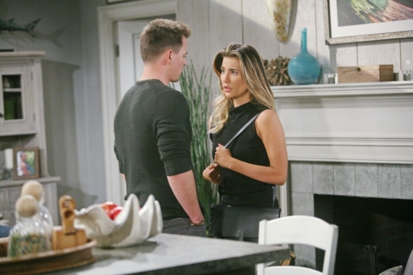 Wyatt gives Steffy a significant gift and encourages her to face her fears and get on with her life.