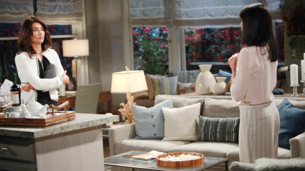 Steffy unleashes her anger and resentment on Quinn for all the pain and heartache she's caused.