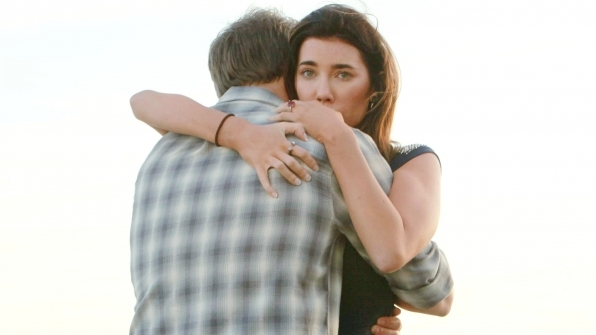 Liam embraced Steffy after being separated for weeks on The Bold and the Beautiful.