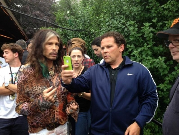 2. Casual Conversations with Steven Tyler