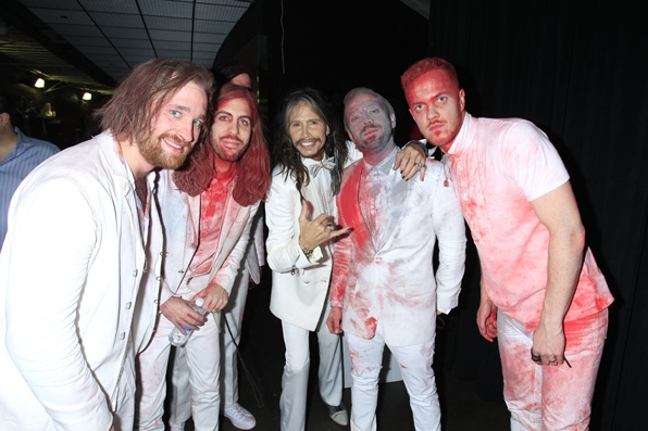28. Imagine Dragons, Steven Tyler