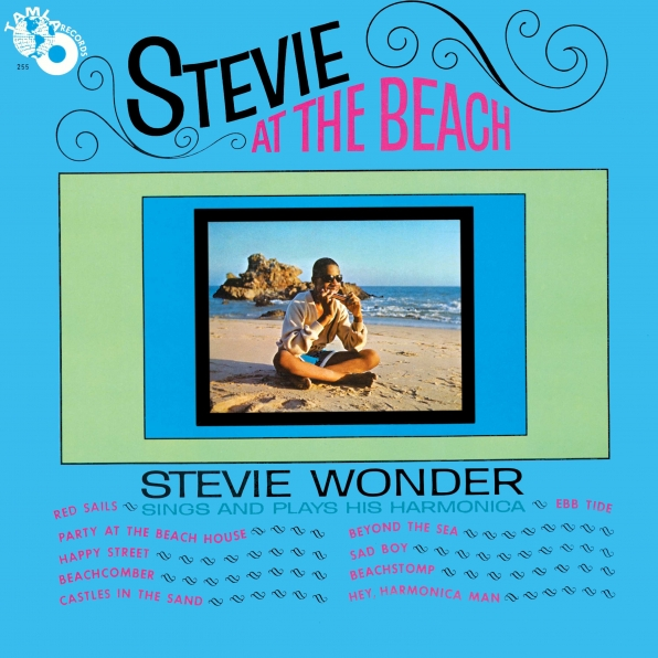"""Stevie At The Beach"""