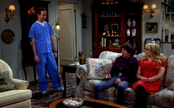 Healthcare aid to Wolowitz's bossy, invalid mother on The Big Bang Theory