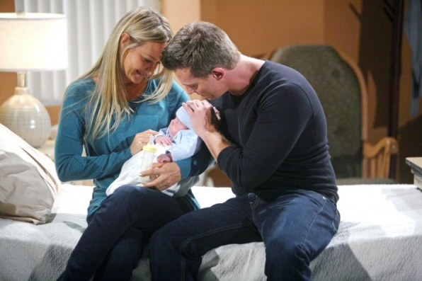 8. Baby Christian is alive—and living as Sharon's child.