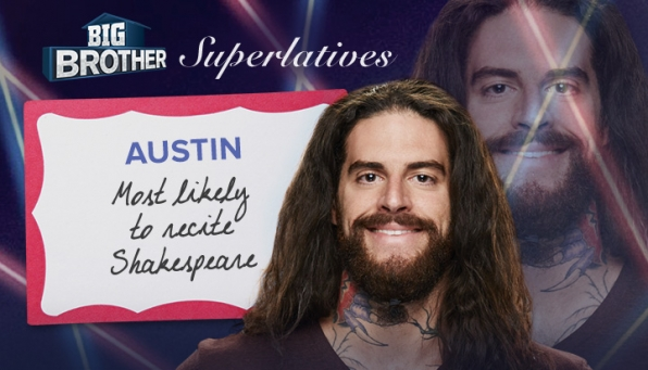 Austin - Most likely to recite Shakespeare