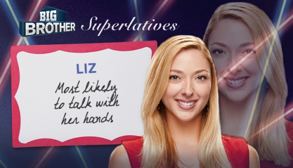 Liz - Most likely to talk with her hands