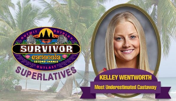 Kelley Wentworth - Most Underestimated Castaway