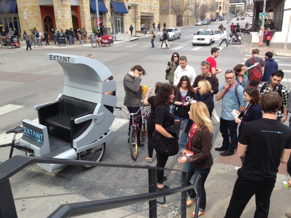 Extant Pedicabs at SXSW