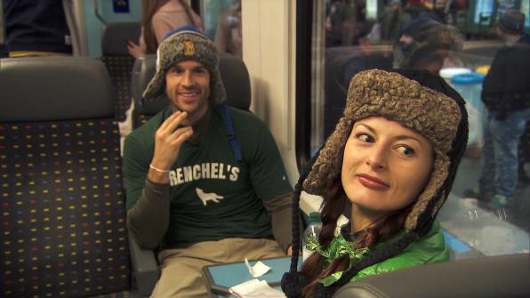 Brendon and Rachel in Season 24 Episode 9