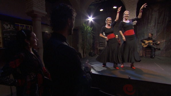 Dance routine in Season 24 Episode 10