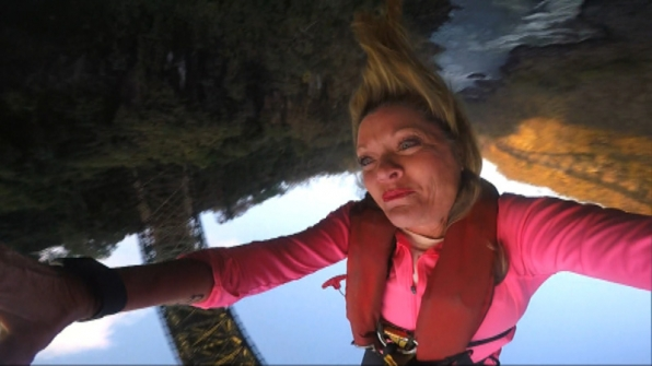 Denise (#TeamAlabama) takes the leap of a lifetime