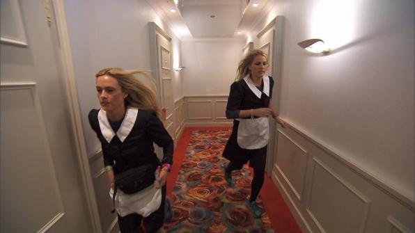 Wearing uniforms in Season 24 Episode 9