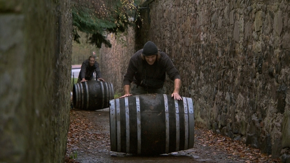 "Anthony and Bates in ""Working Our Barrels Off"" Season 22 Episode 10"