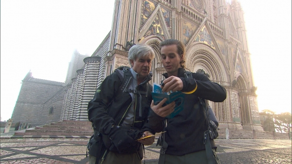18. David and Connor O'Leary - The Amazing Race