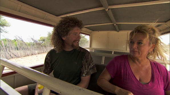 "Chuck and Wynona in ""Be Safe and ""Don't Hit a Cow"" Episode 7 of Season 22"