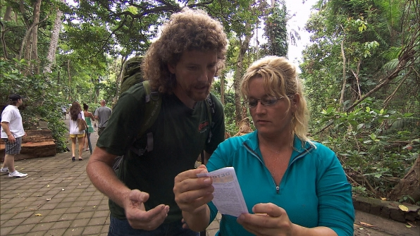 "Chuck and Wynona in ""I Love Monkeys!"" Episode 4 of Season 22"
