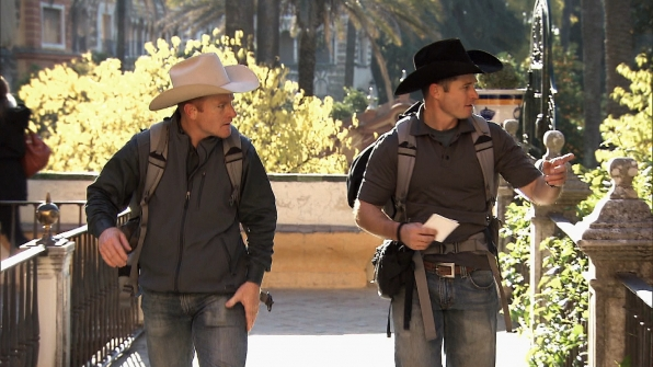 Cowboy brothers in Season 24 Episode 10