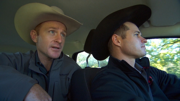 Cord and Jet in Season 24 Episode 8