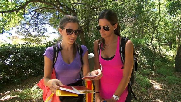 Kim and Nicole