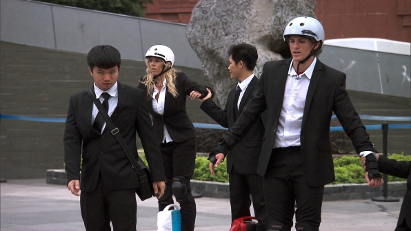 7. What was the best part of your experience on The Amazing Race?