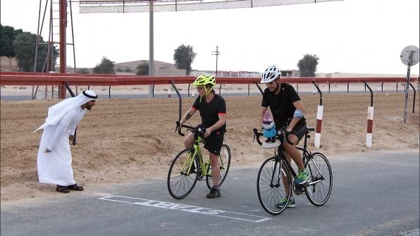Tyler and Korey take on Detour B.