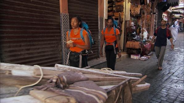 Navigating the streets of Morocco