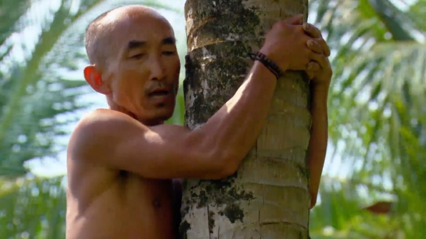 Tai felt the burn during his search for the Idol.