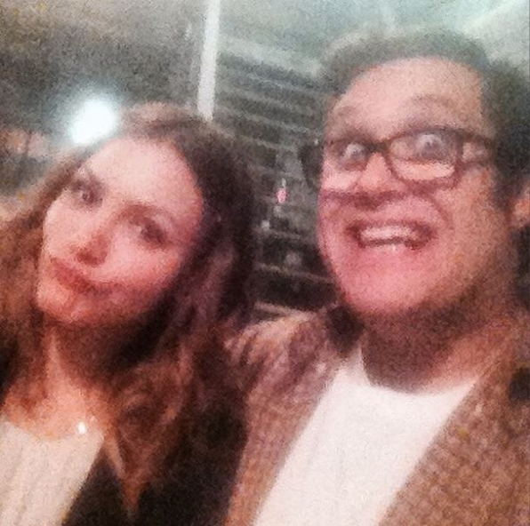 Scorpion Instagram:  Hey #TeamScorpion it's @aristidham and I am taking over! #selfieswithscorpion #setlife
