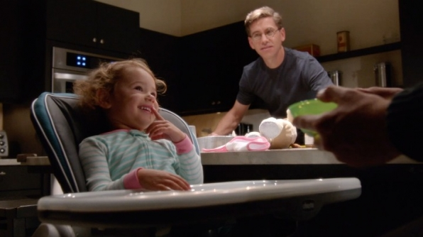DiNozzo gets some fatherly advice from Palmer.