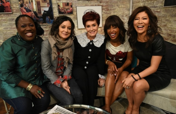 12. Sheryl Underwood, Sara Gilbert, Sharon Osbourne, Aisha Tyler, and Julie Chen – The Talk