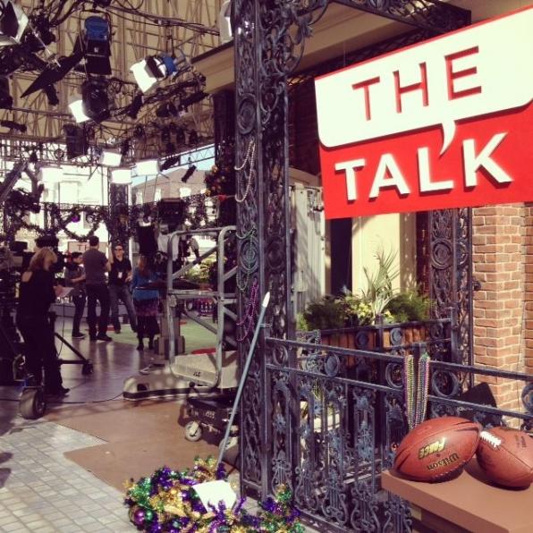 Sneak Peek The Talk Set in NOLA!