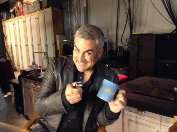 Taylor Hicks - Behind the Scenes at The Late Late Show