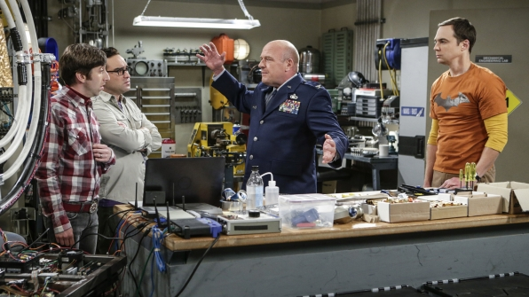 Col. Williams has some unexpected suggestions for the gyroscope.