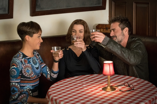 2. Lucca, Jason, and Alicia from The Good Wife