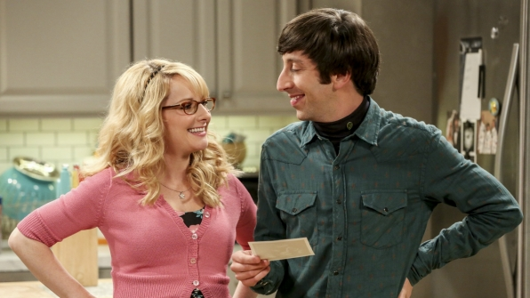 It's hard to contain our excitement for Howard and Bernadette's adventures in parenthood on The Big Bang Theory.