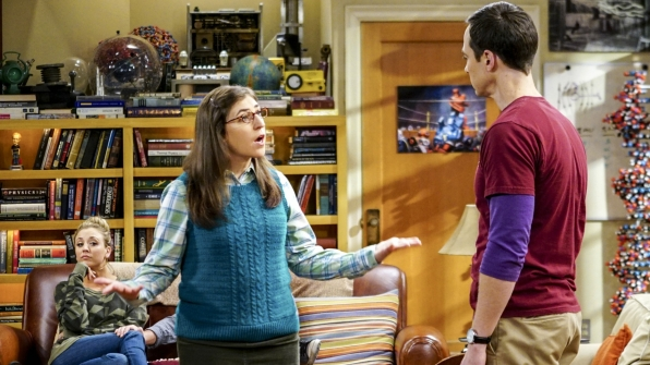 There's trouble in paradise for Amy and Sheldon!