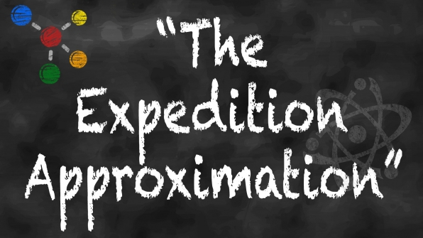 "Episode title or actual scientific theory: ""The Expedition Approximation"""