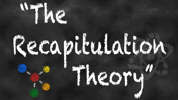 "Episode title or actual scientific theory: ""The Recapitulation Theory"""