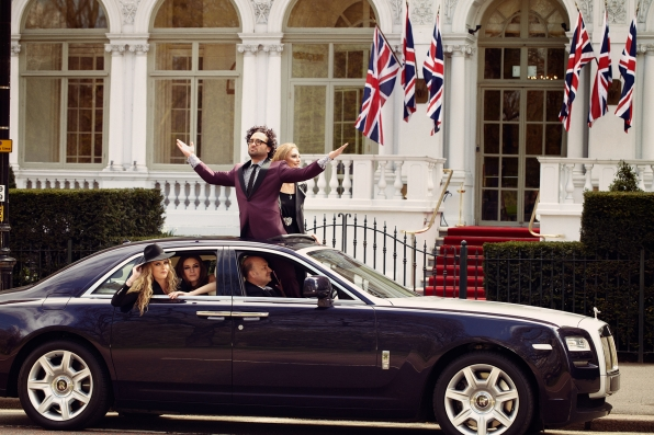 Roll out the royal welcome