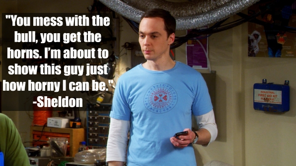 Sheldon Cooper – <i>The Big Bang Theory</i>