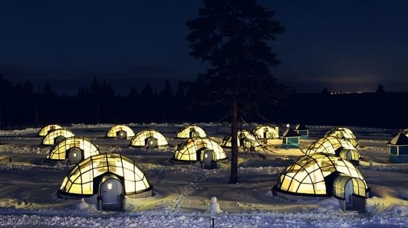 2. The Kakslauttanen Arctic Resort in Kakslauttanen, Finland