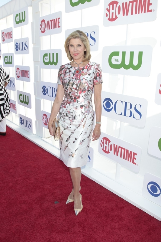 Christine Baranski at the TCAs