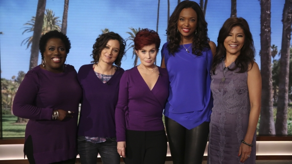 7. Sheryl Underwood, Sara Gilbert, Sharon Osbourne, Aisha Tyler, and Julie Chen from The Talk