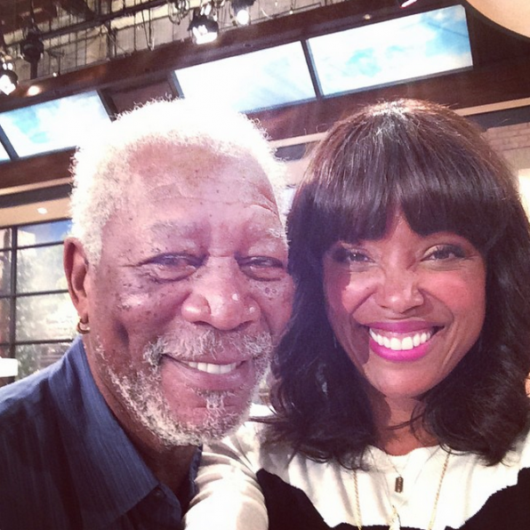 66. Morgan Freeman & Aisha Tyler - Madam Secretary & The Talk