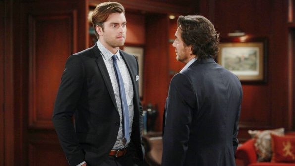 Thomas refuses to let Ridge hide the truth any longer.