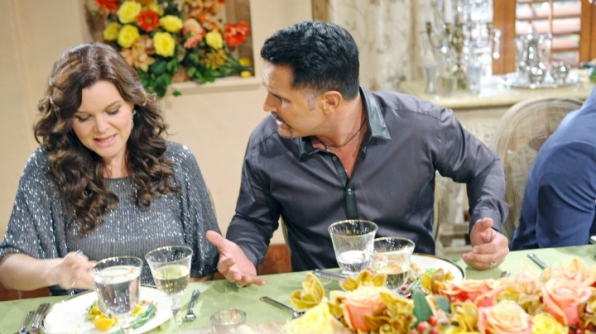 Bill tells Brooke how grateful he is for her.
