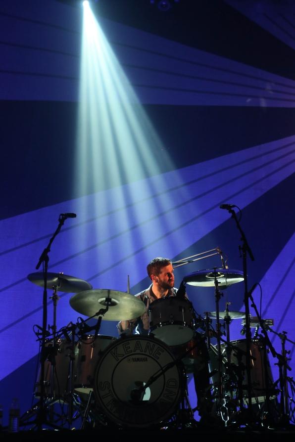Keane's Drummer Richard Hughes