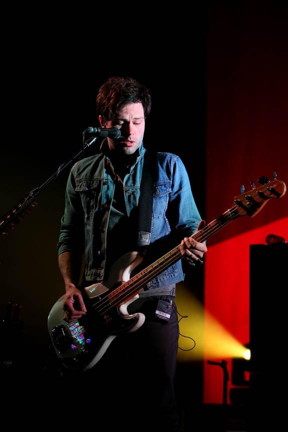 Keane's Jesse Quin Rehearses