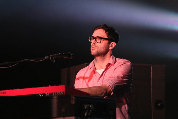 Tim Rice-Oxley Rehearses